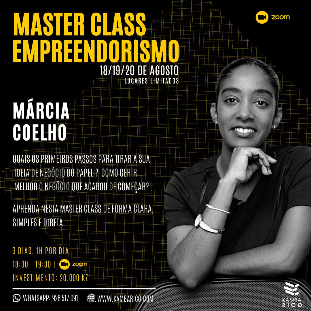 MasterClasse Empreendorismo 18-20 Agost