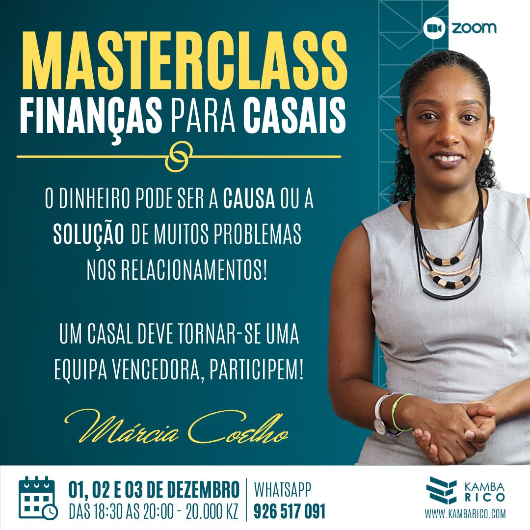 MasterClasse Casais 01-03 Dez.